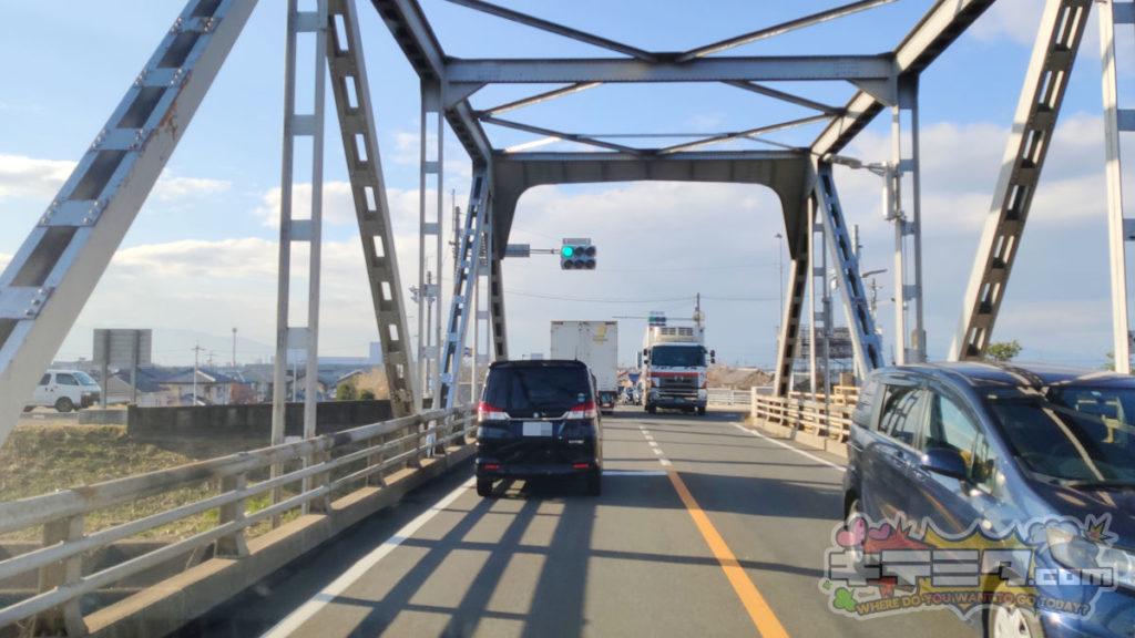 コストコ岐阜羽島倉庫店への最速ルートは濃尾大橋を左折することで始まる!
