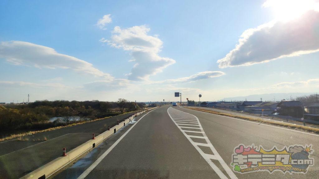コストコ岐阜羽島倉庫店への最速ルートは木曽川沿いを南下するだけ