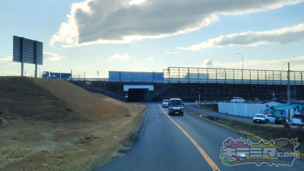 コストコ岐阜羽島倉庫店への最速ルートは高速道路沿いに走る。