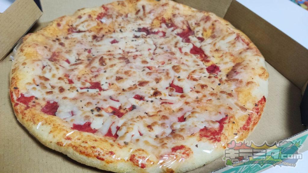カネスエKanesue500円本格ピザの全景