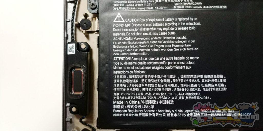 バッテリーパック ACER swift3 SF314-57-F58U/S