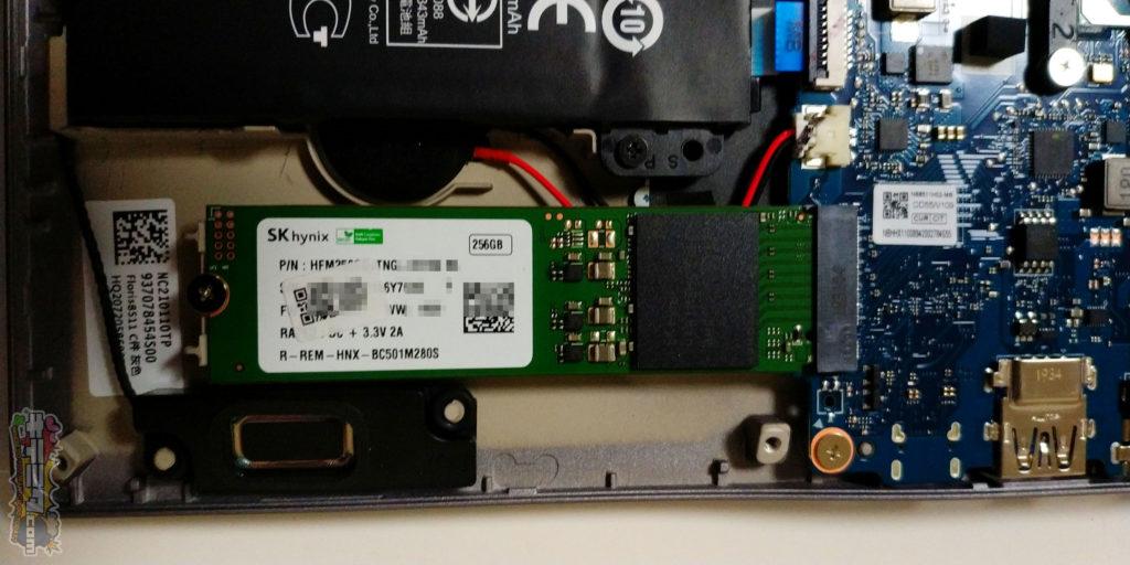 ACER swift3 SF314-57-F58U/S SSDはこれだ!!。